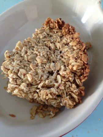 Mmmmm......comfort food and energy packed!  Crumble it into a bowl for granola too!