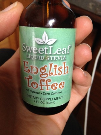 this is what I love for my hot coffee beverages, if I want sweetener.  I usually don't sweeten, but on the occasion I do this is sooo decadent!  you only need about 2-3 drops!